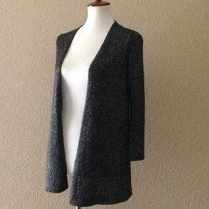 Eileen Fisher Sparkly Knit Cardigan linen nylon